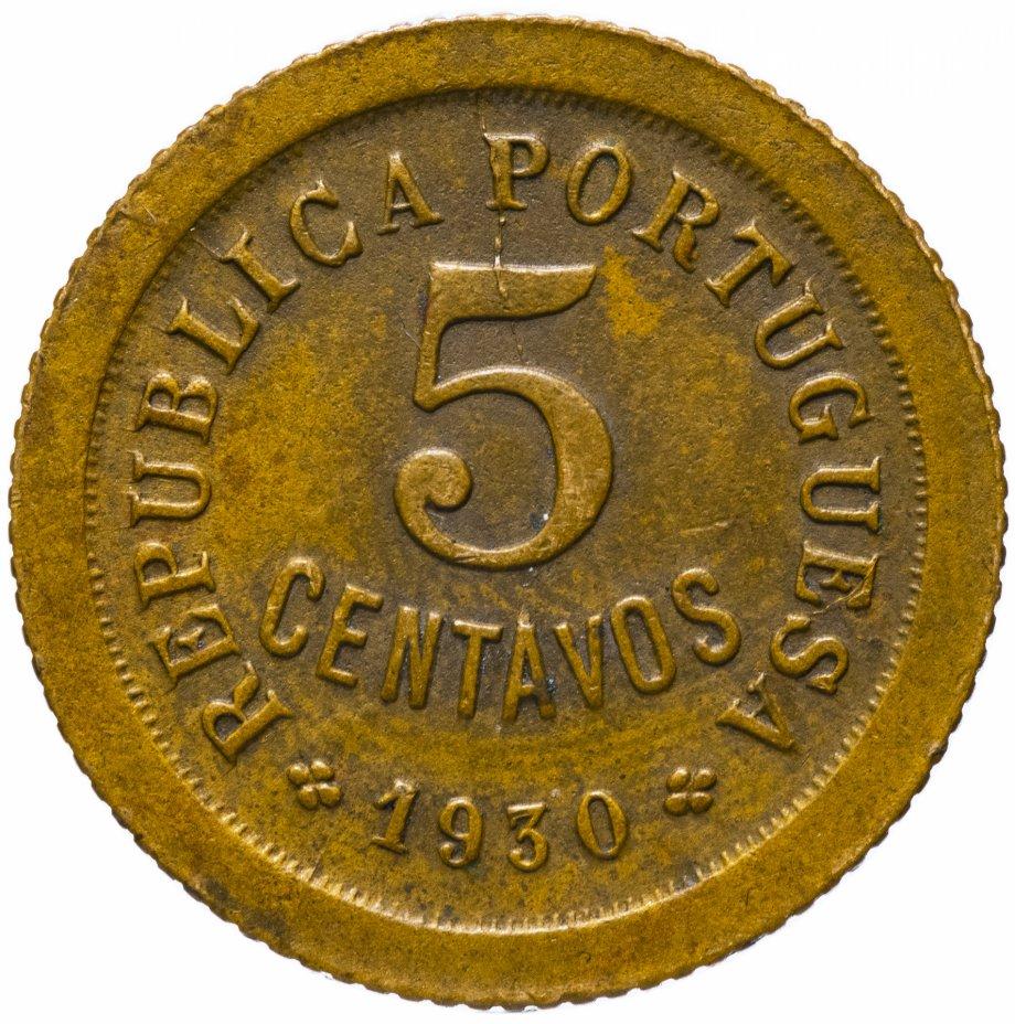 купить Кабо-Верде 5 сентаво 1930