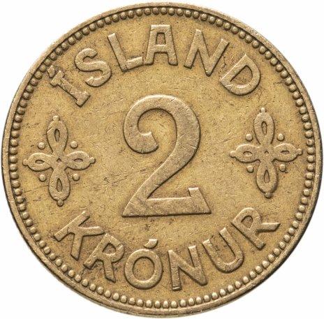 купить Исландия 2 кроны (kronur) 1929