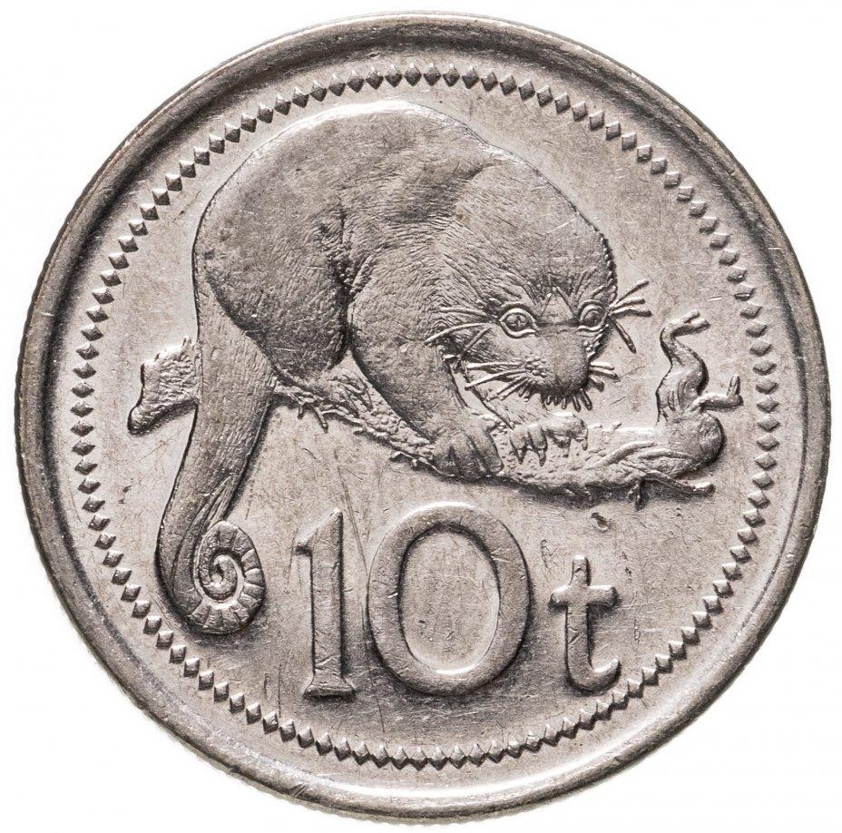 купить Папуа - Новая Гвинея 10 тойя (toea) 2002-2018, случайная дата