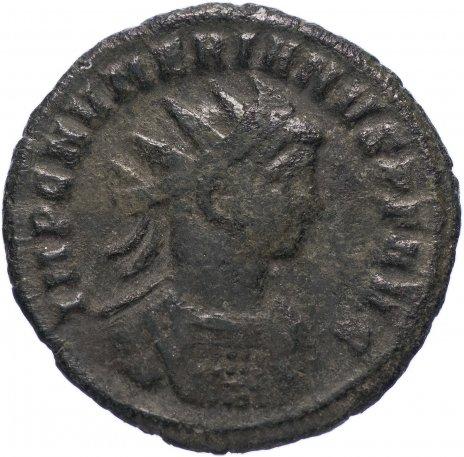 купить Римская Империя Нумериан 283–284 гг антониниан (реверс: два воина стоят, держат штандарты, между ними алтарь)