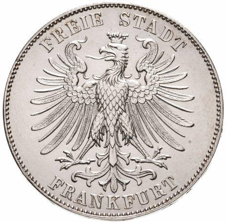купить Франкфурт 1 талер 1859 100 лет со дня рождения Шиллера