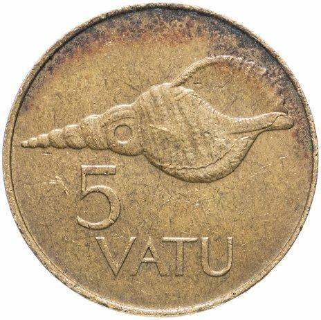 купить Вануату 5 вату (vatu) 1983-2009, случайная дата