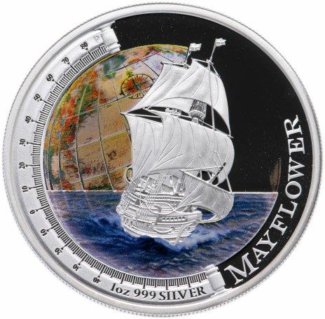 """купить Тувалу 1 доллар 2012 «Корабли,изменившие мир-Mayflower"""""""