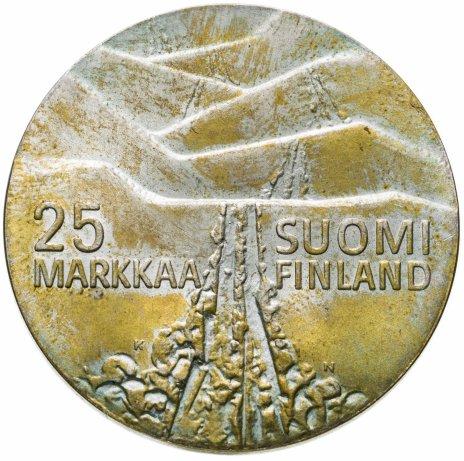 """купить Финляндия 25 марок 1978 """"Чемпионат мира по лыжным видам спорта 1978 года в Лахти"""""""