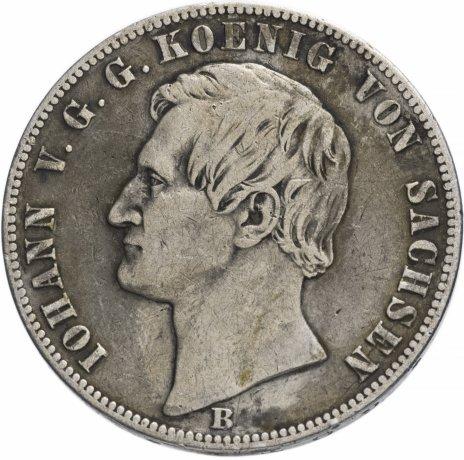 купить Германия (Саксония) 1 талер 1870 B