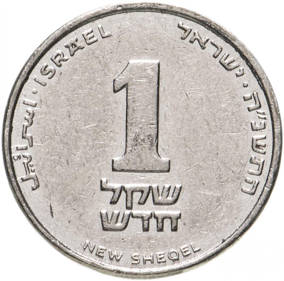купить Израиль 1 новый шекель (new sheqel) 1994-2017 магнетик, случайная дата