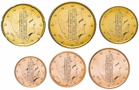 купить Нидерланды набор монет от 1 до 50 евро центов 2014 (6 штук)