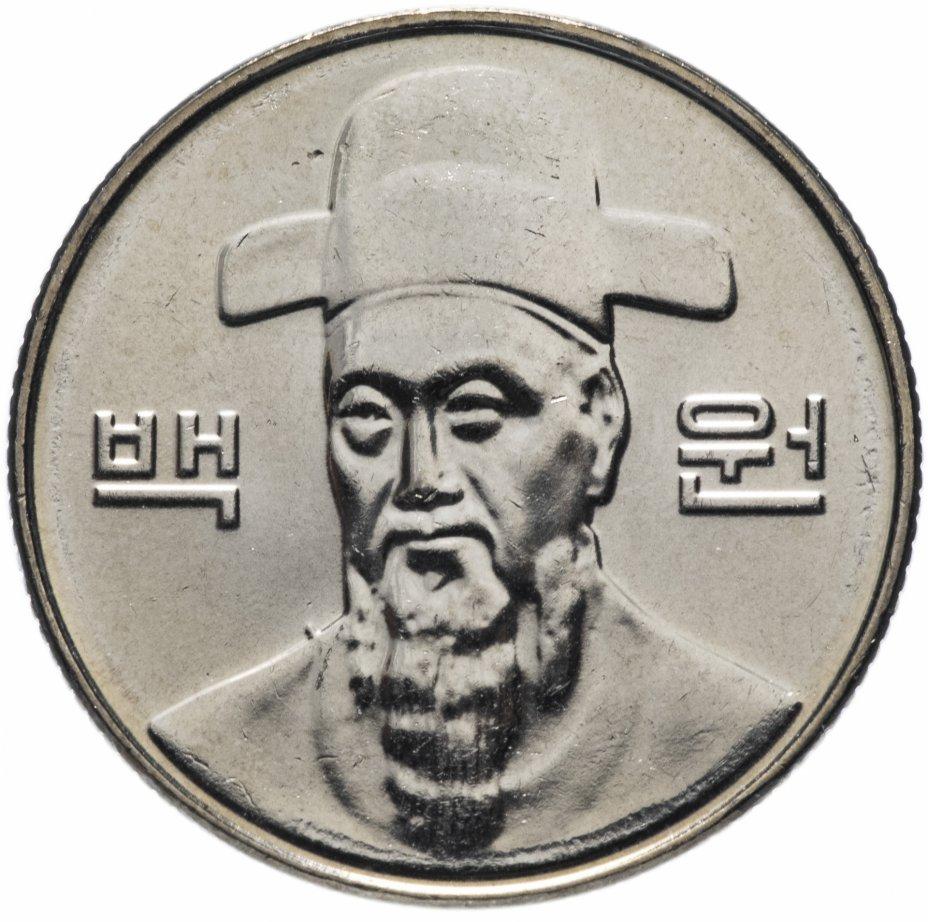 купить Южная Корея 100 вон 2012
