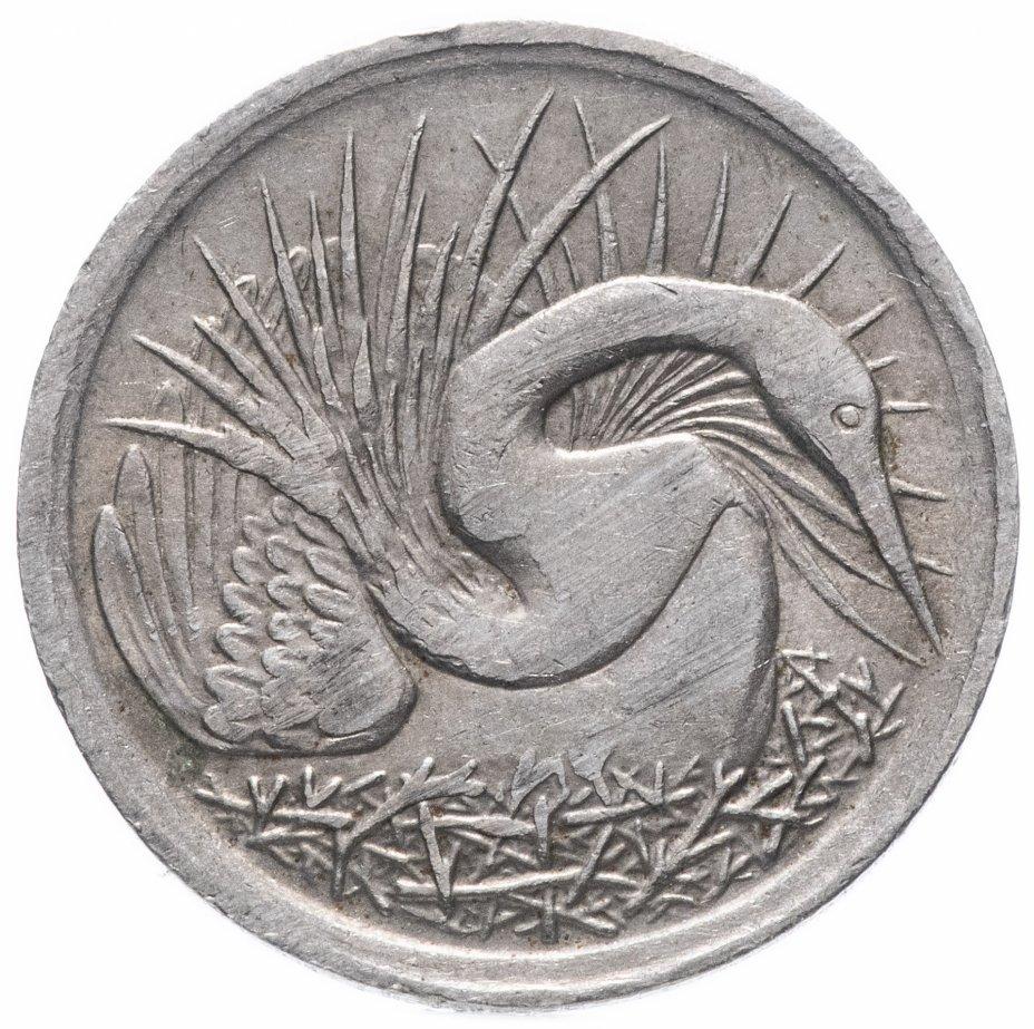 купить Сингапур 5 центов 1973