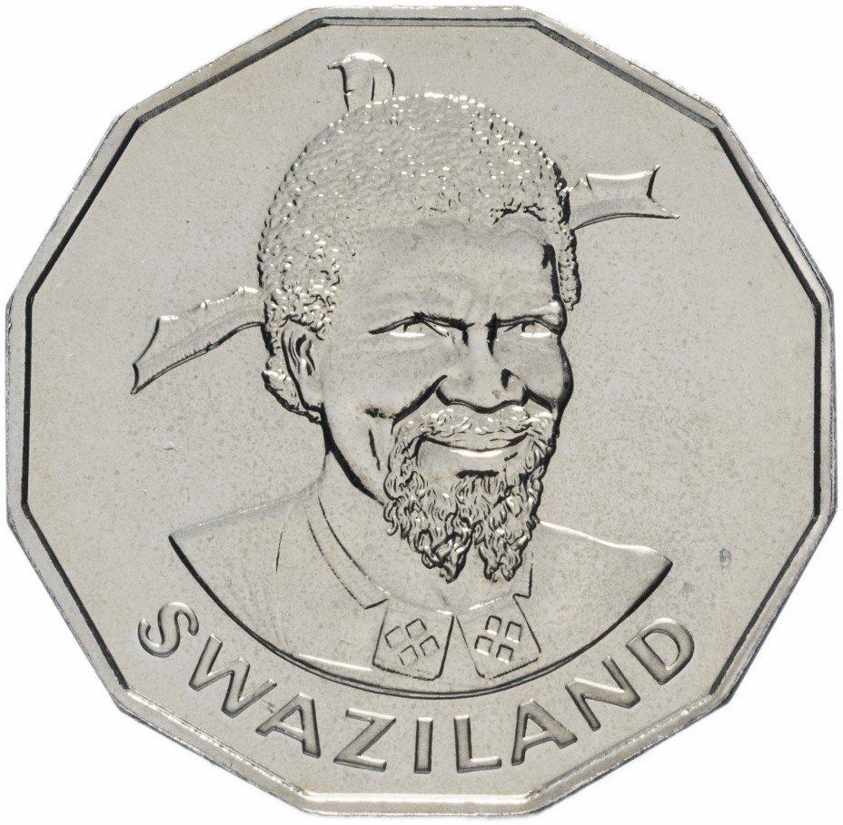 купить Свазиленд 50 центов 1974