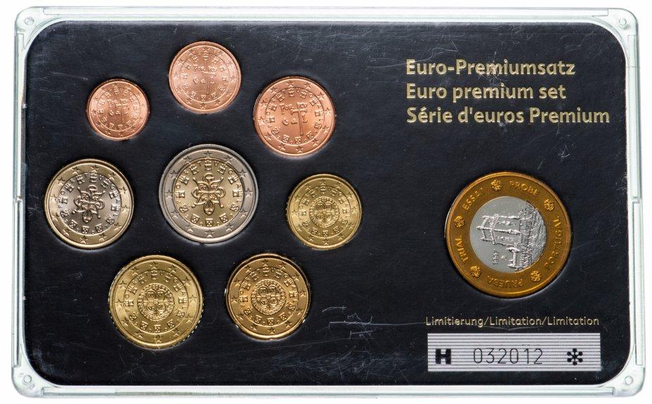 купить Португалия набор из 8 монет евро и жетона 1997-2007, в футляре