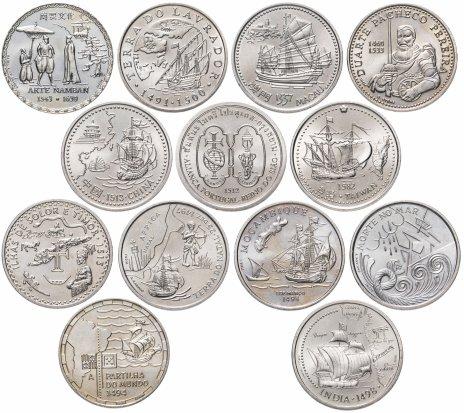 купить Португалия набор из 13 монет 200 эскудо 1993-2000