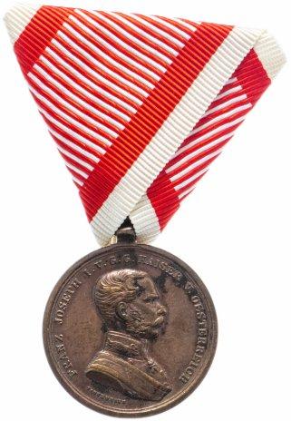 купить Австро-Венгрия Малая медаль за Храбрость Франц Иосиф
