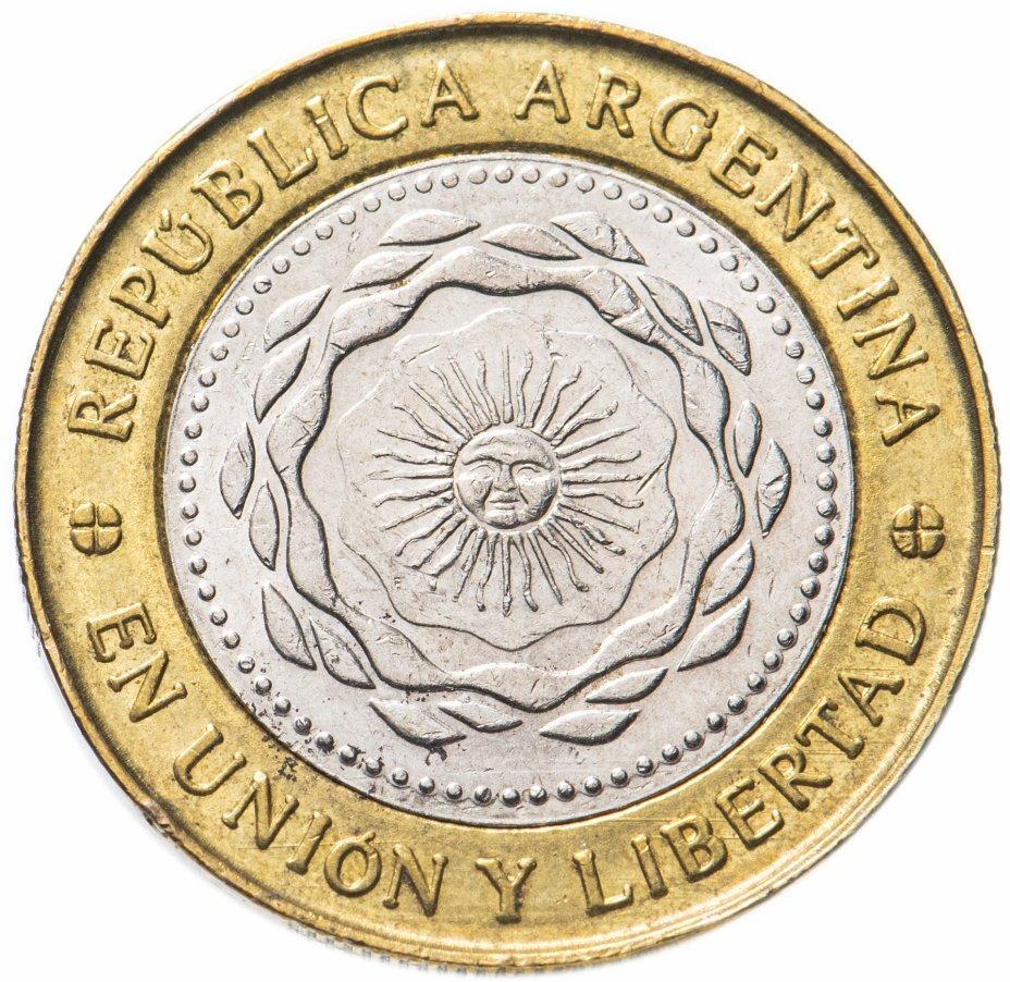 купить Аргентина 2 песо (pesos) 2010-2016, случайная дата
