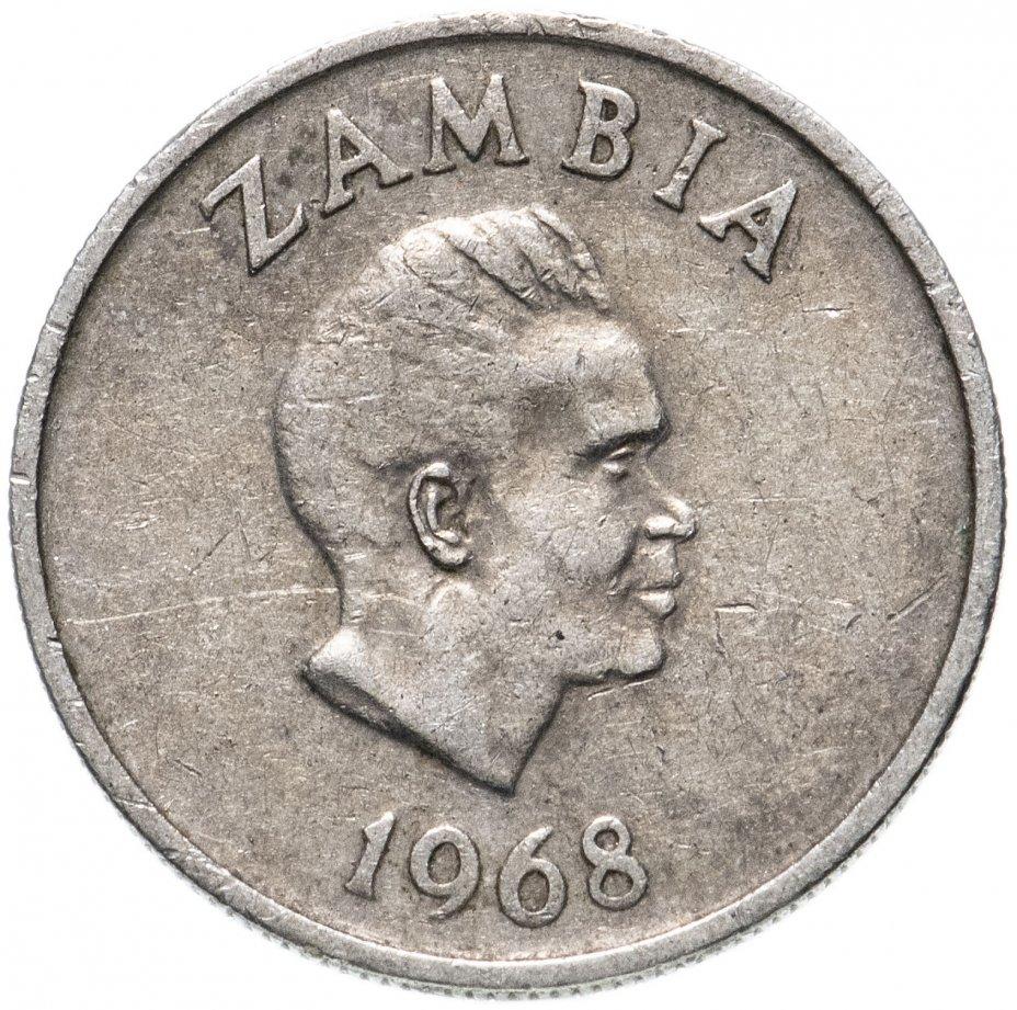 купить Замбия 5 нгве (ngwee) 1968-1987, случайная дата