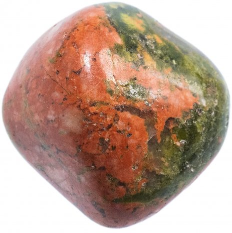 купить Унакит, галтовка 1х2 см (ЮАР)