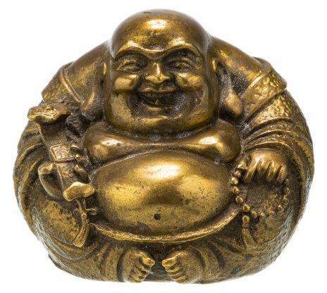 """купить Статуэтка пресс-папье """"Будда Хотэй"""", бронза, Западная Европа, 1990-2000 гг."""