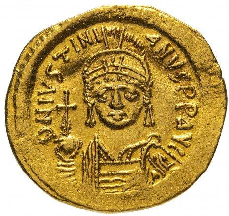 купить Византийская империя, Юстиниан I 527 - 565 гг., Солид.