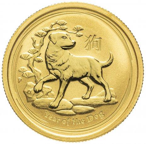 купить Австралия 25 долларов (Dollars) 2018 - Год собаки (Elizabeth II Year of the Dog)