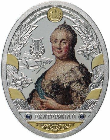 """купить Медаль """"Российские императоры. Романовы. Екатерина II"""""""