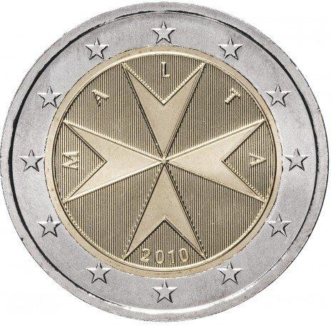 купить Мальта 2 евро 2010