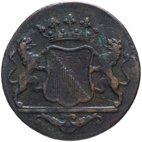 купить Голландская Ост-Индия 1 двойной дуит 1790