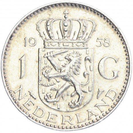 купить Нидерланды 1 гульден 1958