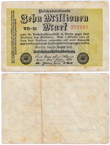 купить Германия 10000000 марок 1923 (Pick 106)