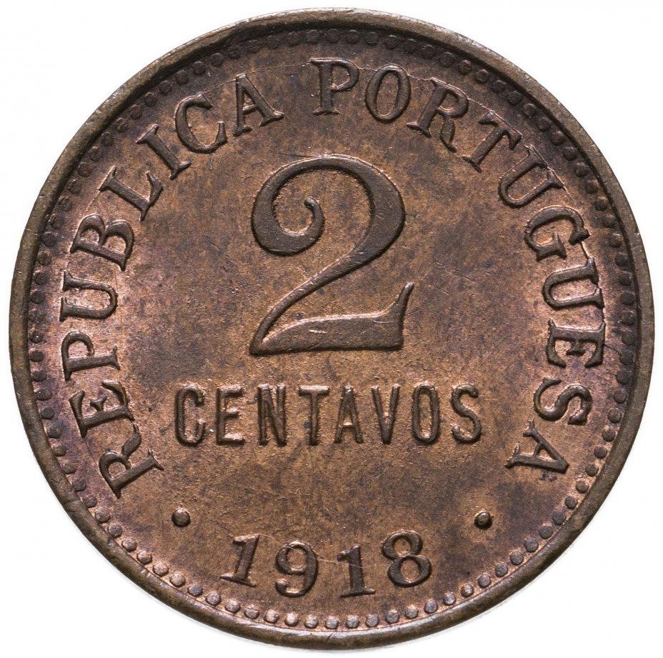 купить Португалия 2 сентаво (centavos) 1918