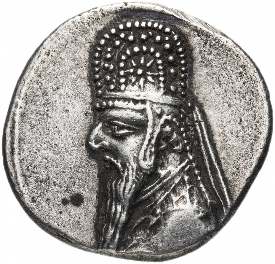 купить Парфянское царство, Митридат II, 121-91 годы до Р.Х., Драхма.