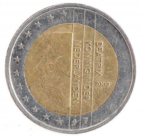 купить Нидерланды 2 евро 2000