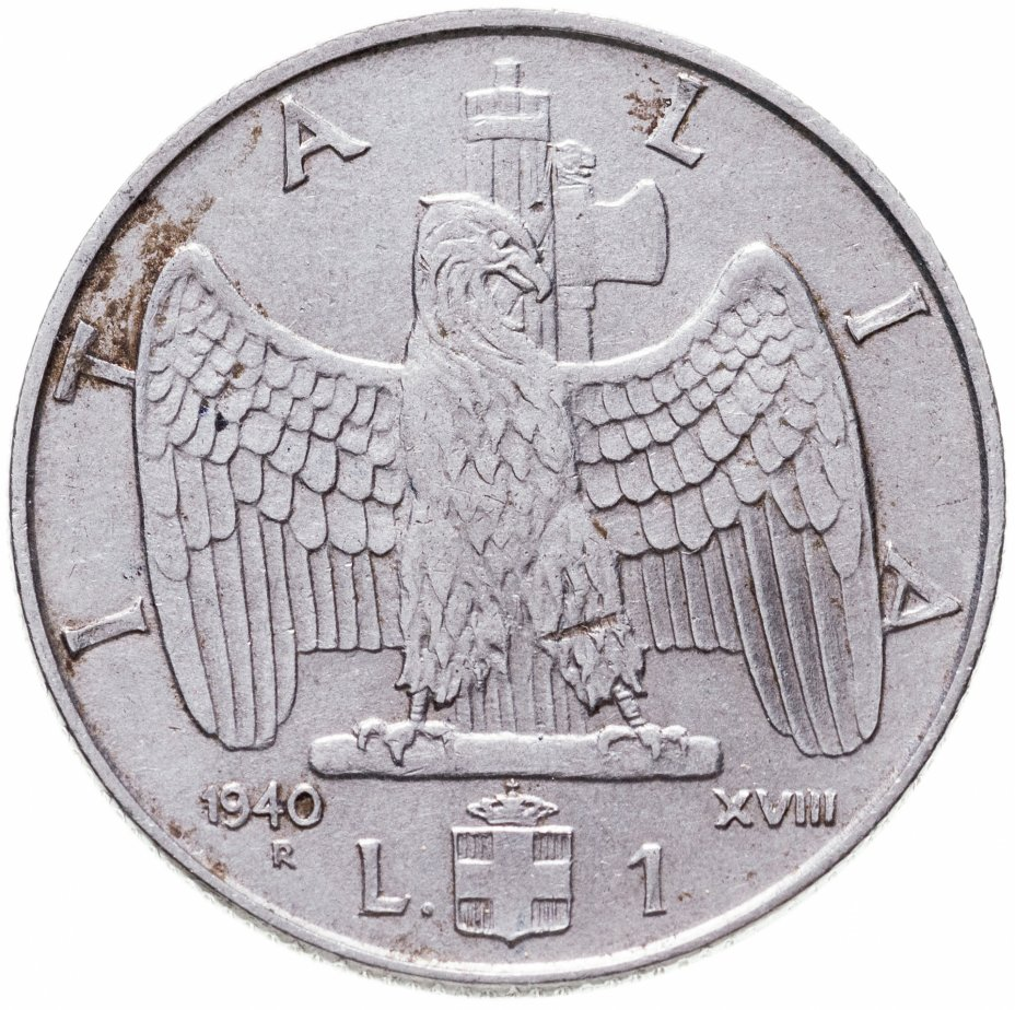 купить Италия 1 лира (lira) 1940 (Магнетик)