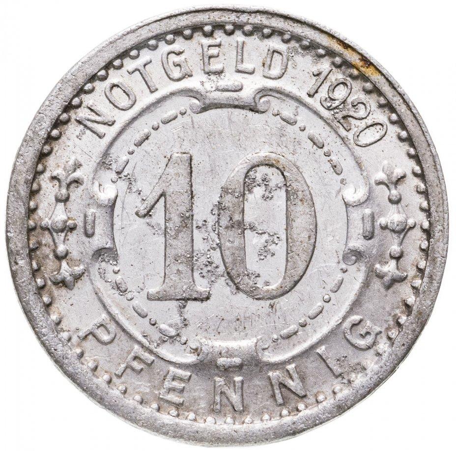 купить Германия (Виттен) нотгельд  10 пфеннигов 1920
