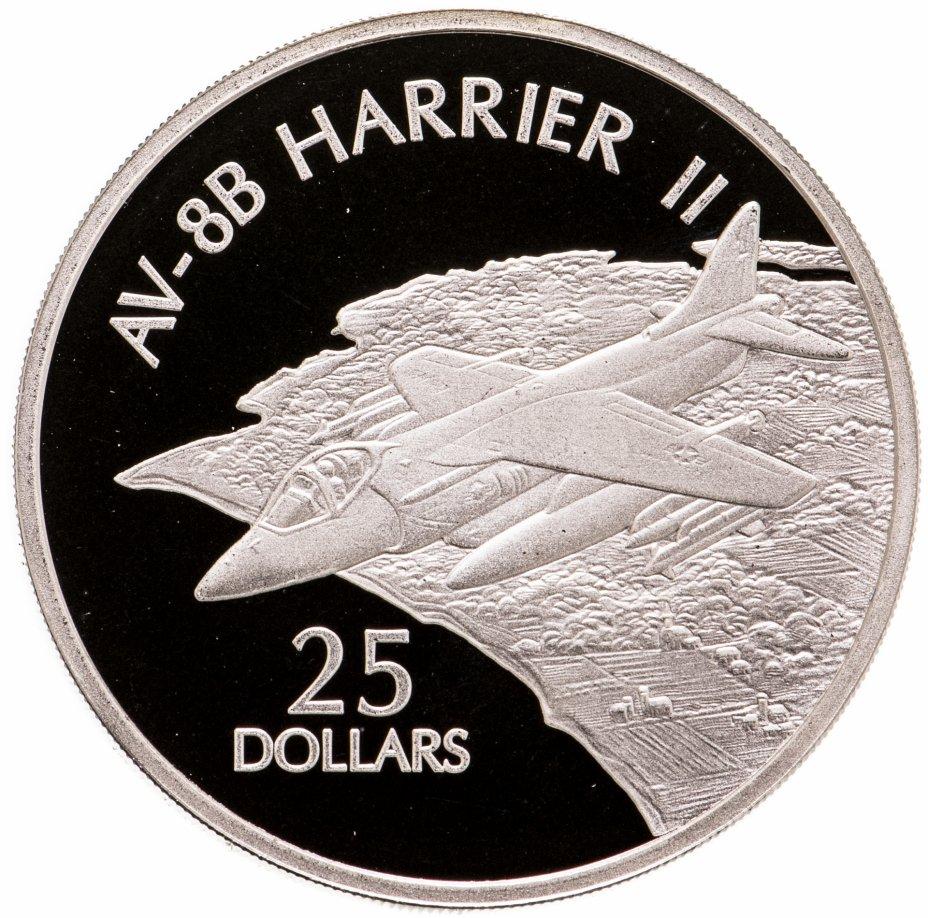 купить Соломоновы Острова 25 долларов (dollars) 2003  Самолёты - McDonnell Douglas AV-8B Harrier II