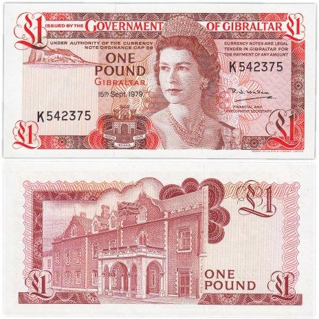 купить Гибралтар 1 фунт  1979 (Pick 20b)