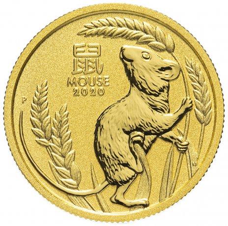 купить Австралия 25 долларов (Dollars) 2020 - год крысы (Year of the Mouse)