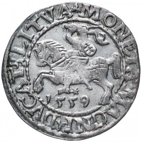 купить Великое княжество Литовское, Жигимантас Аугустас ( Сигизмунд II Август) Полугрош 1559г.