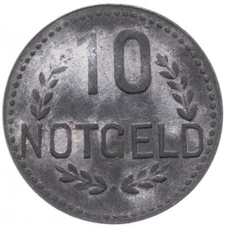 купить Германия (Висбаден) нотгельд 10 пфеннигов 1917