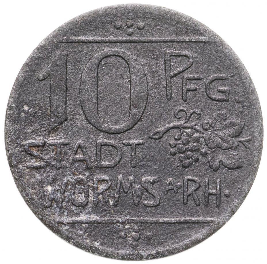 купить Германия (Ворсмарх) 10 пфеннигов 1918