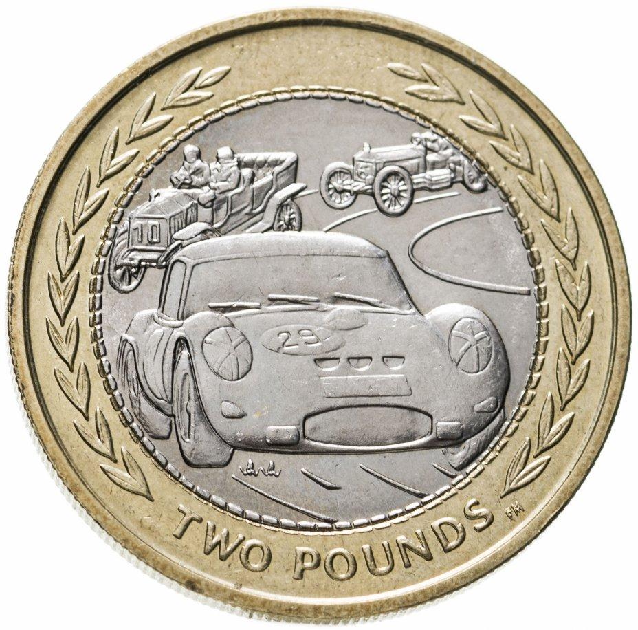 купить Остров Мэн 2 фунта (pounds) 1998