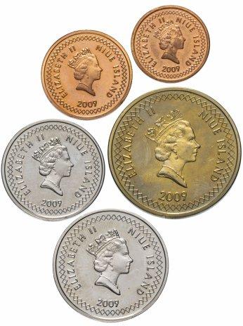 купить Остров Ниуэ набор монет 2009 (5 штук)