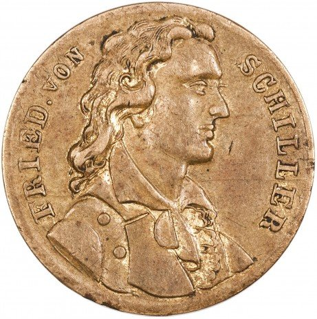купить Жетон на смерть Фридриха Шиллера