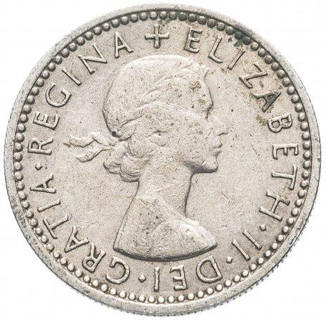 купить Великобритания 6 пенсов (pence) 1954-1970, случайная дата