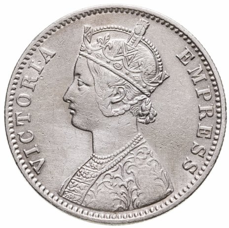купить Индия (Британская) 1 рупия (rupee) 1892