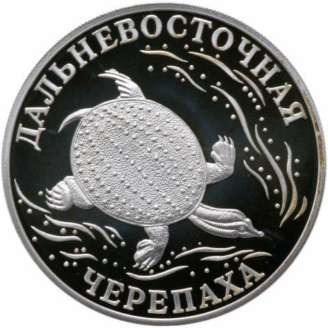 """купить 1 рубль 2003 СПМД  """"Красная книга: дальневосточная черепаха"""""""