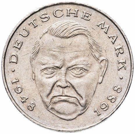 """купить Германия 2 марки 1988-2001 """"Людвиг Эрхард, 40 лет Федеративной Республике"""", случайная дата"""