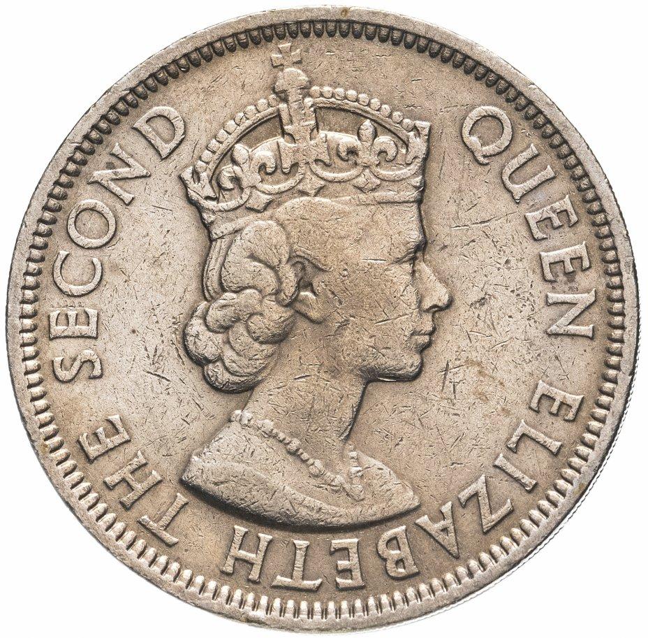 купить Маврикий 1 рупия (rupee) 1956-1978 Елизавета II, случайная дата