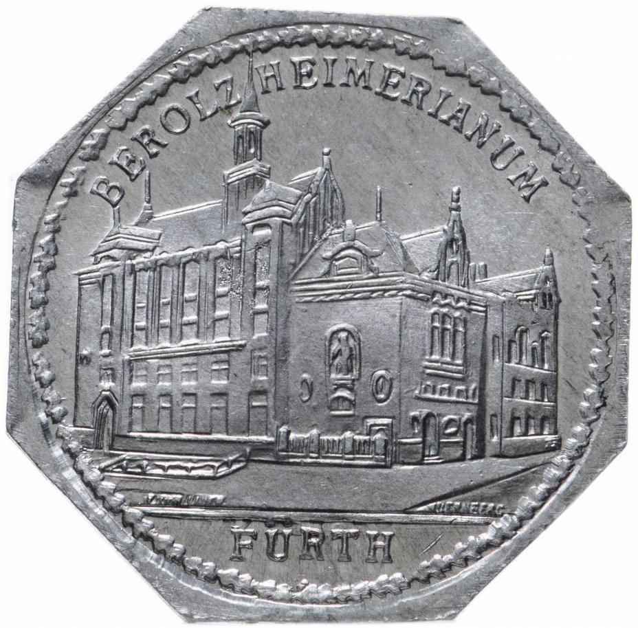 """купить Германия (Нюрнберг) нотгельд  20 пфеннигов 1921 """"Театр комедии"""" трамвайный жетон"""