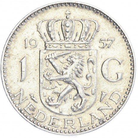 купить Нидерланды 1 гульден 1957