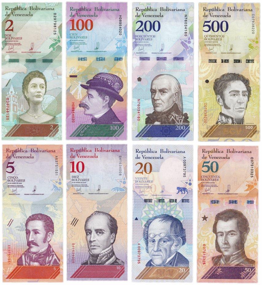 купить Венесуэла Набор банкнот 2018 (8 штук)